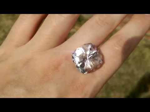 Breathtaking Brazilian Morganite Gemstone from KGC