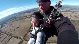Euroa Australia  city pictures gallery : Monika skydive at Euroa, Victoria Australia.
