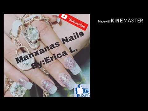 Uñas acrilicas - Como hacer uñas acrílicas paso#3 como pegar las tips