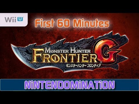 Monster Hunter Frontier G Wii U