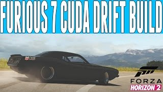 Nonton Forza Horizon 2 Fast and Furious Drift Build : Furious 7 Plymouth Cuda Drift Build Film Subtitle Indonesia Streaming Movie Download