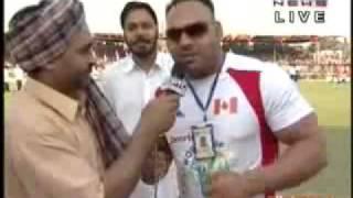 Bhatinda India  city images : kabaddi WORLD KABADDI CUP PUNJAB 2010 Bhatinda INDIA VS CANADA PART 5 { KAHLON}