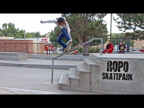 Ropo Skatepark Montage