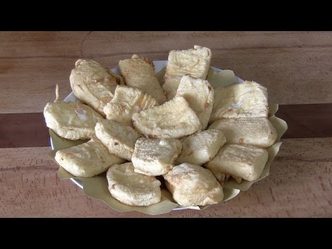 formaggio fritto in pastella - la videoricetta
