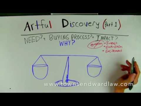 Artful Discovery in the Sales Process, Part 1 [FREE DOWNLOAD]