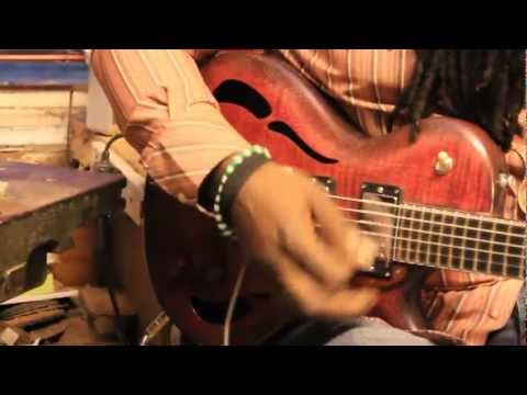 Fred Wisdom signature PAF guitar demo