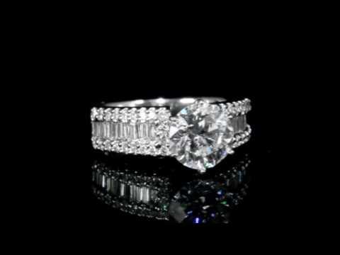 2.05克拉鑽石戒指