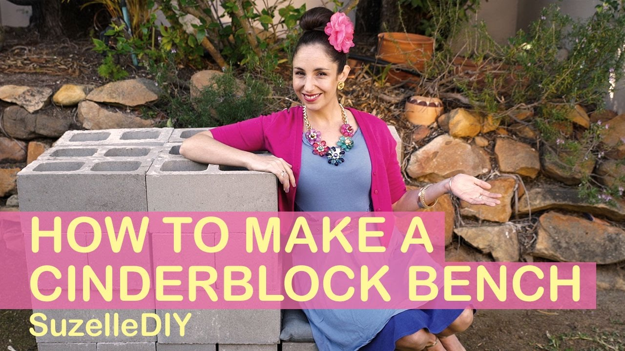 How to make a Cinderblock Bench-graphic