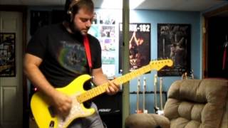Blink 182 - Adam's Song - Guitar Cover with Baritone Strat