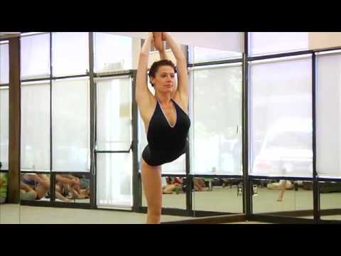 Bikram Yoga Demonstration – Brandy Lyn Winfield