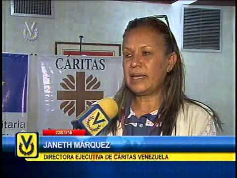 Cáritas Venezuela firma convenio de asistencia para fortalecer sistemas de alerta temprana