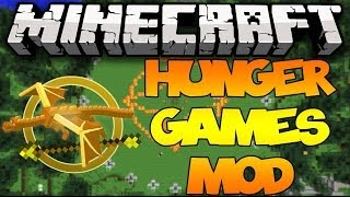 Minecraft: HUNGER GAMES MOD! (YouTubers, Zombification, 48 Tributes,&MORE!)   Mod Showcase