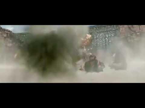 The Lone Ranger train crash scenes with sfx