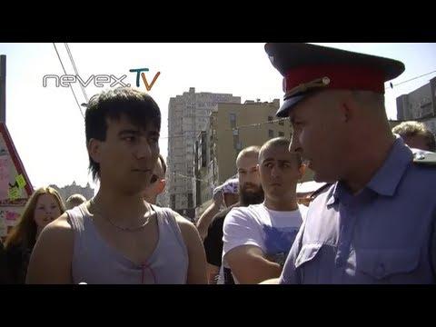 Блондинка с битой или Русская Зачистка - Питер