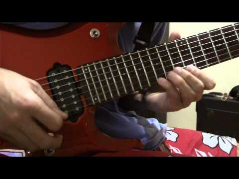 a dramatic turn of events - Dream Theater On the Backs of Angels (A Dramatic Turn of Events) / Roadrunner Records Solo Demonstration by Thiago Campos Original solo by: John Petrucci / D...