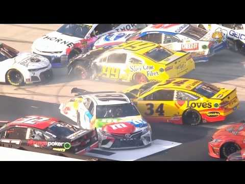 Monster Energy NASCAR Cup Series 2018. Bristol Motor Speedway (2). Pile Up