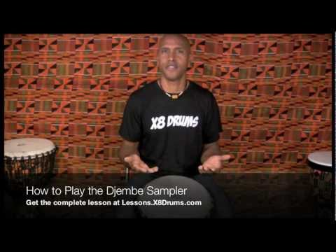 How to Play the Djembe for Beginners – X8 Drums Online Djembe Lessons