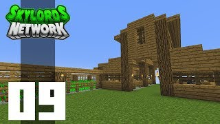 •Minecraft Skyblock - Ep. 9: COUNTRY ROADS! (Skylords Network)•