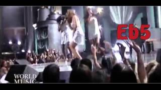 Beyoncé vs Christina Aguilera - Vocal Battle (D3-Eb6)