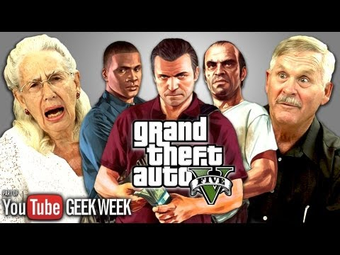 Elders React to Grand Theft Auto