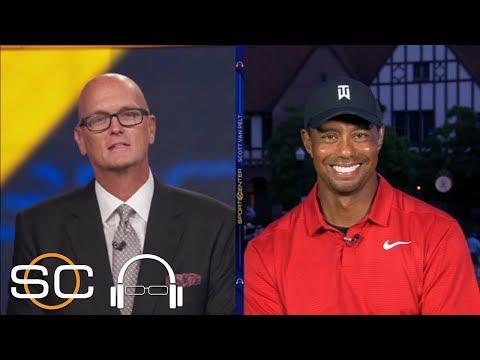 Tiger Woods describes emotions …