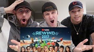Video REACTING to YouTube Rewind: The Shape of 2017 | #YouTubeRewind MP3, 3GP, MP4, WEBM, AVI, FLV Mei 2018