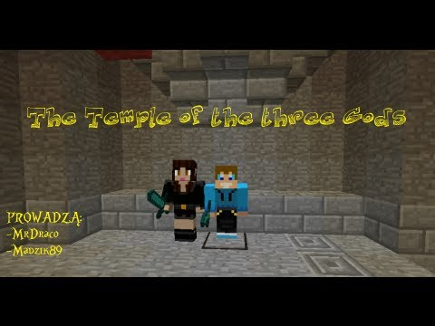 Minecraft Escape #1 The Temple of the three Gods