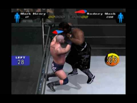 Royal Rumble Easy Elimination from Smackdown Here Comes The Pain.