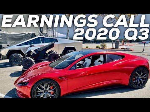 Tesla Q3 2020 Earnings Call + Recap