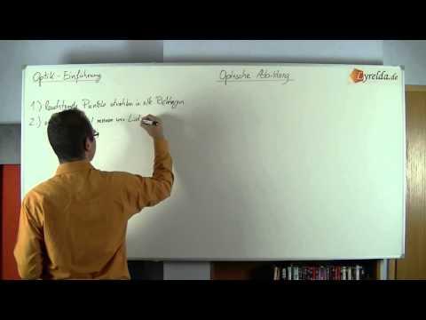 Einführung Optik & Abbildungsmaßstab