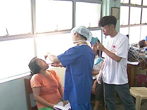 Guarding Against Typhoon Meranti and Welcoming Tzu Chi`s Medical Volunteers