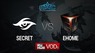 Secret vs EHOME, game 2
