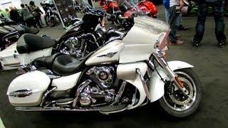 8. 2013 Kawasaki Vulcan 1700 Voyager Walkaround - 2013 Montreal Motorcycle Show