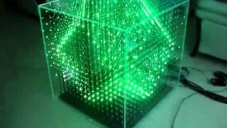 3D LED RGB Cube 16x16x16 (b)