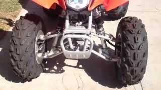 7. 2014 Honda TRX250X Red