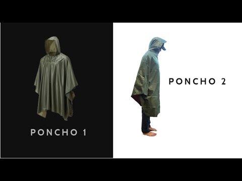 Rain Poncho, Festival Poncho, Military Poncho, Poncho, Ponchos, Poncho !