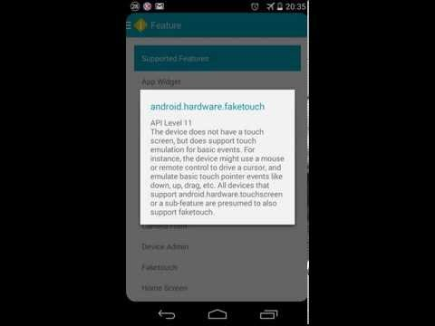 Video of Developer Device Information
