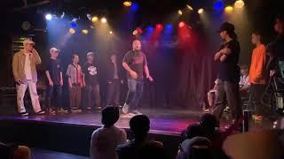 東北連合 (Masashi, Yuka, Showty, こうき, ちゅうそん) vs A.B.A.K (Takumi, Boo, Genta, Mr. K) – sweet dream POP SP!! CREW BATTLE FINAL