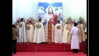 Malankara Syrian catholic tamil holy mass by Bishop VINCENT MAR PAULOSE
