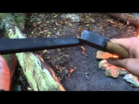 Easy and Cheap way to sharpen an Axe