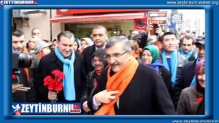 Zeytinburnu Belediye Başkanı Murat Aydın'a Sevgi Seli