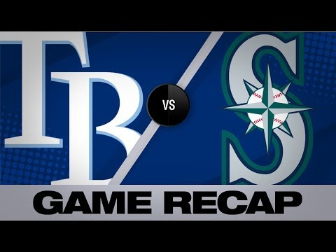 Video: Yarbrough's near shutout, Sogard leads Rays | Rays-Mariners Game Highlights 8/11/19