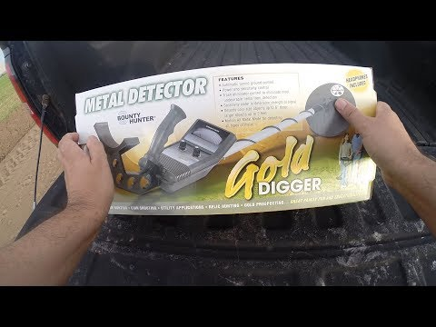 Best Metal Detector for Beginners - Bounty Hunter Gold Digger Review, Tutorial and How To