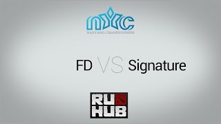 FD vs Signature, game 1