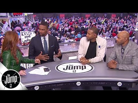 Tracy McGrady, Chris Bosh and Vince Carter reflect on the Raptors' NBA Finals run | The Jump