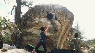 Bouldering at Horse Flats The Refrigerator by  rockentry