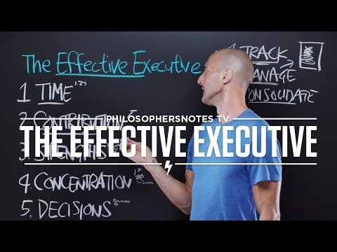 PNTV: The Effective Executive by Peter F. Drucker (#346)