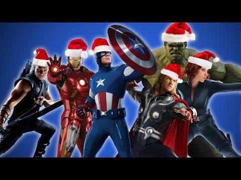 Avengers zpívají koledy
