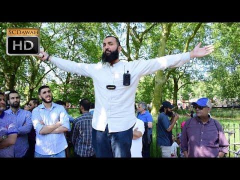 P1 - Prophecies of Muhammad (PBUH)!! Suboor & Atheist | Speakers Corner | Hyde Park (видео)