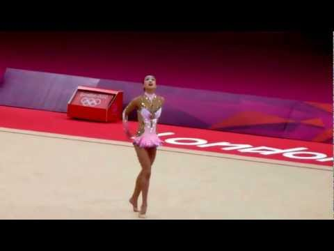 Son Yeon Jae Rhythmic Gymnastic London Olympics 2012 Individual Final Ball Routine 손연재 (видео)